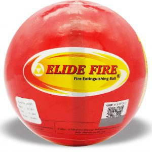 Elide fire ลูกบอลดับเพลิง สีแดง 1.3 Kg.